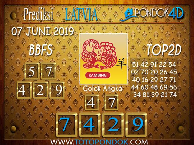 Prediksi Togel LATVIA PONDOK4D 07 JUNI 2019