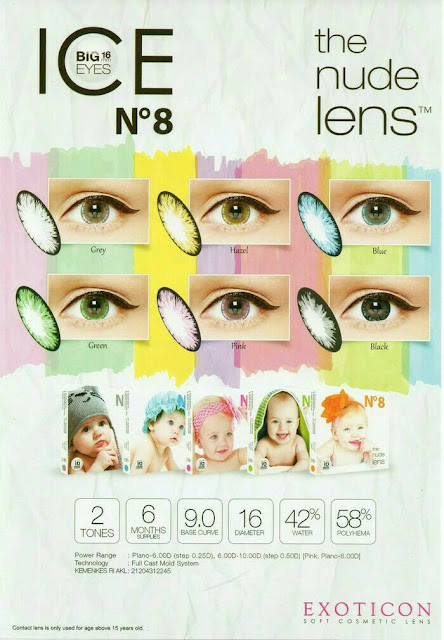 Softlens Ice N8 Color
