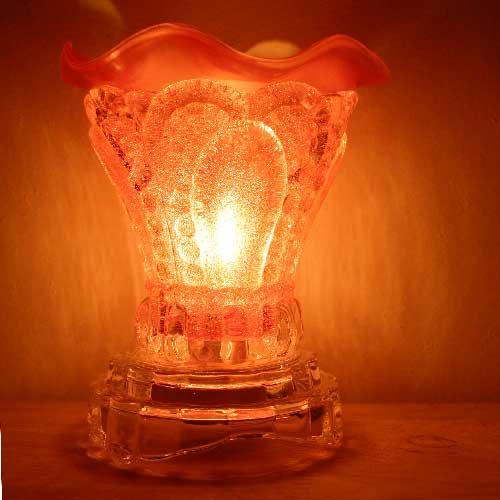 Đèn xông tinh dầu thuỷ tinh