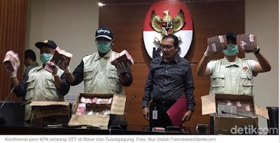 KPK Akan Masukkan Wali Kota Blitar dan Bupati Tulungagung ke DPO