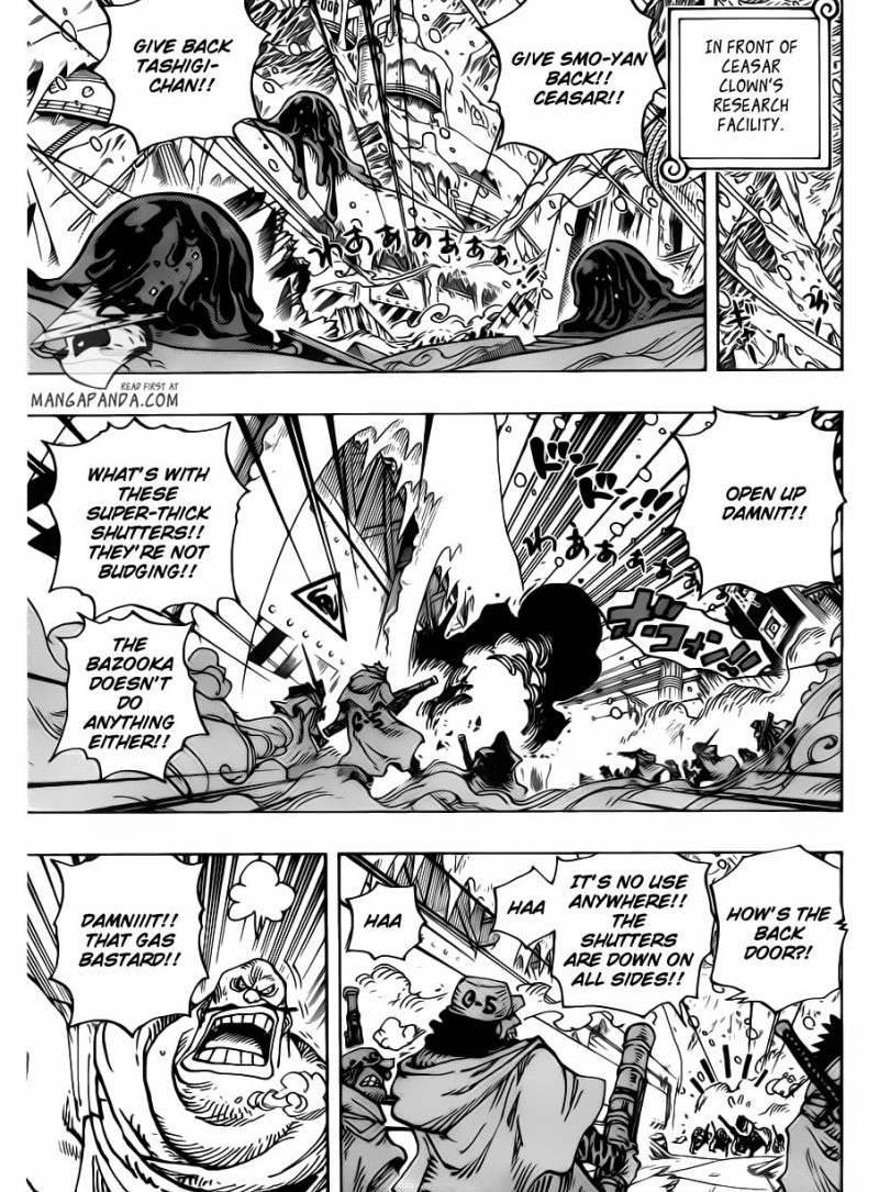One Piece 673 : Vergo And Joker