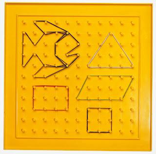 p dagogik versand mit dem geobrett geometrische figuren aufspannen. Black Bedroom Furniture Sets. Home Design Ideas