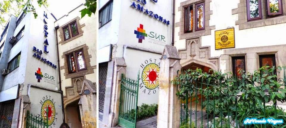 Hospedagem em Santiago