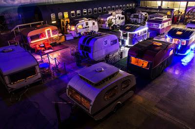 Camping interior de caravanas retro - Bonn