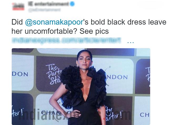 Sonam Kapoor Slams Dailies