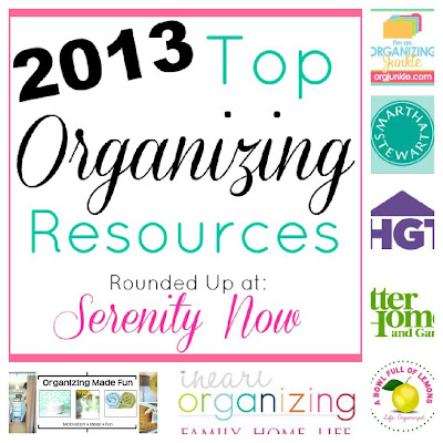 Top Organizing Sites and Resources for 2013, from Serenity Now