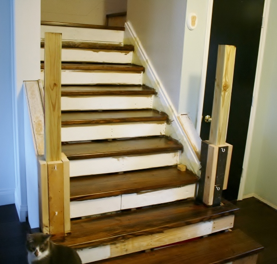 On The Rise; Adding The Stair Risers