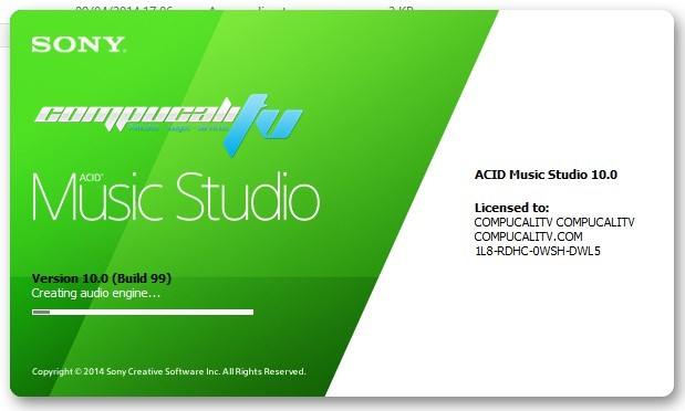 Sony ACID Music Studio Versión 10