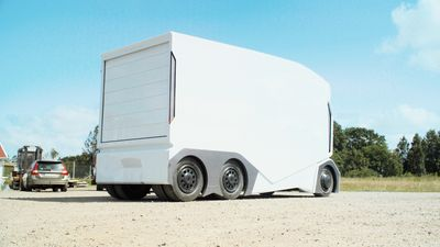 Einride تكشف النقاب عن شاحنة ذاتية القيادة لا تملك مكانا لسائقها !