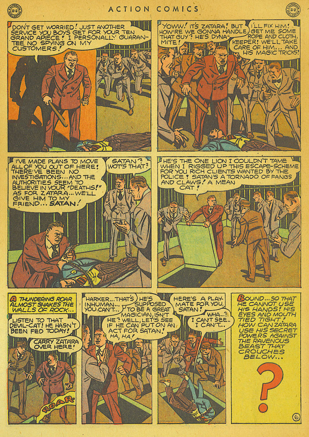 Read online Action Comics (1938) comic -  Issue #74 - 56