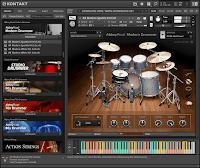 Download Native Instruments Abbey Road Modern Drummer KONTAKT Library