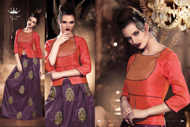 Best Party Wear and Wedding Special Kurti Collection 2017