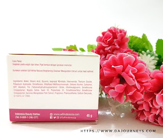 Review Safi White Natural Brightening Cream Mangosteen Extract