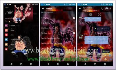 BBM MOD Tema Gear Four Luffy Based 2.12.0.11 APK