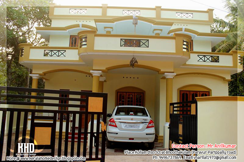 Building Front Elevation Models : Beautiful new home for sale in kerala design