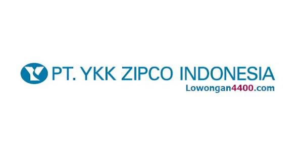 Lowongan Kerja PT YKK Zipco Indonesia Terbaru