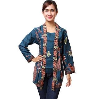 Trend Model Baju Batik Kantor Terbaru