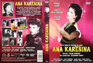 Carátula: Ana Karenina 1948 | Carátula 1