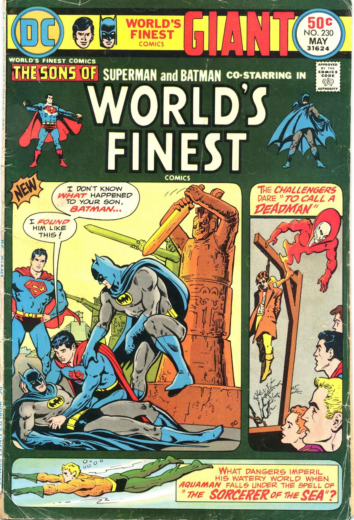 Read online World's Finest Comics comic -  Issue #230 - 1
