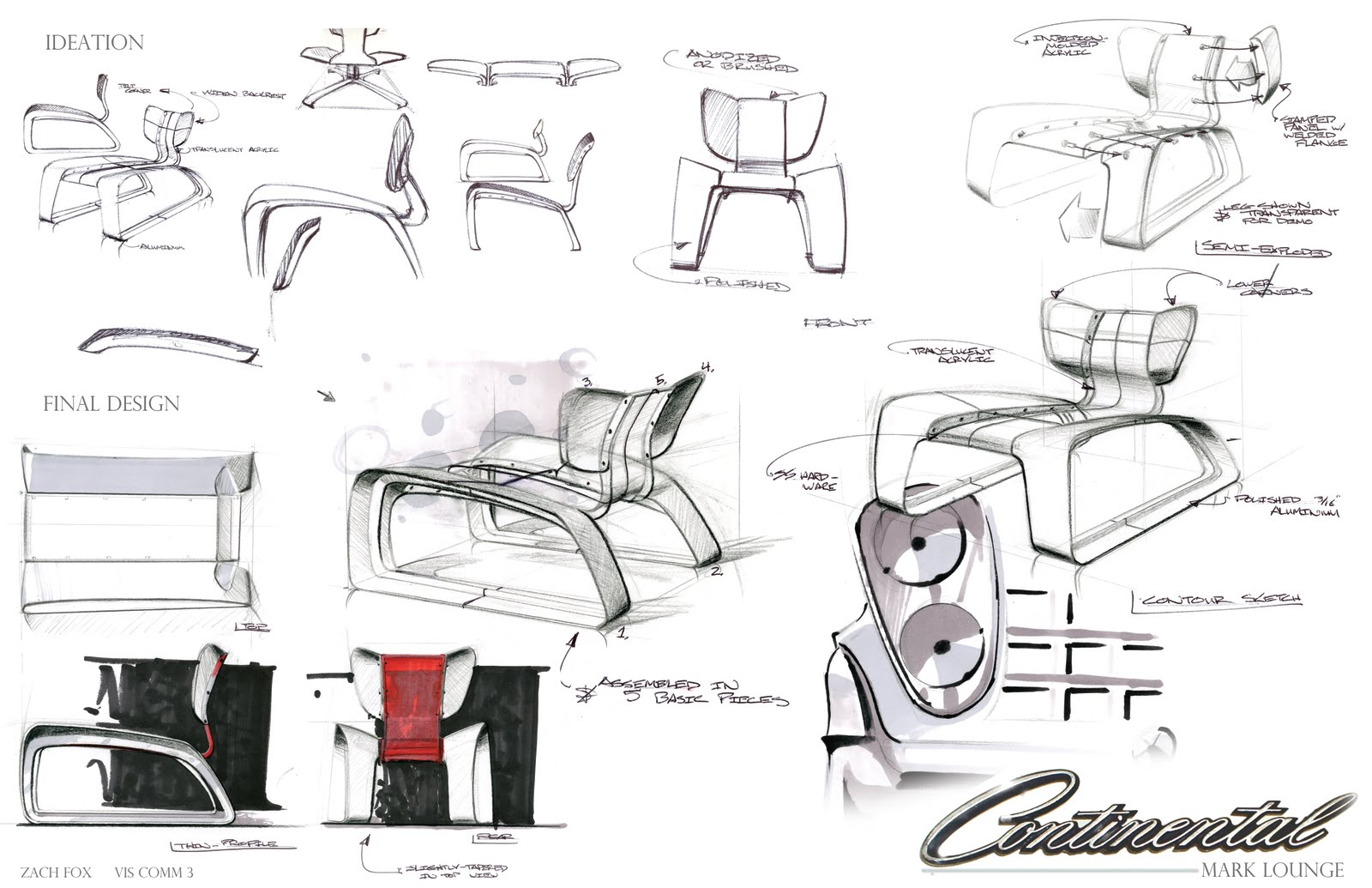 Industrial Design Renderings