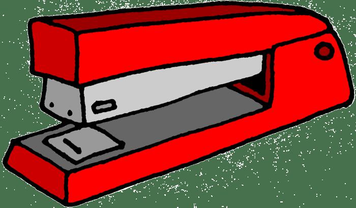 Cartoon Stapler Vector Art & Graphics | freevector.com  |Mean Cartoons Stapler