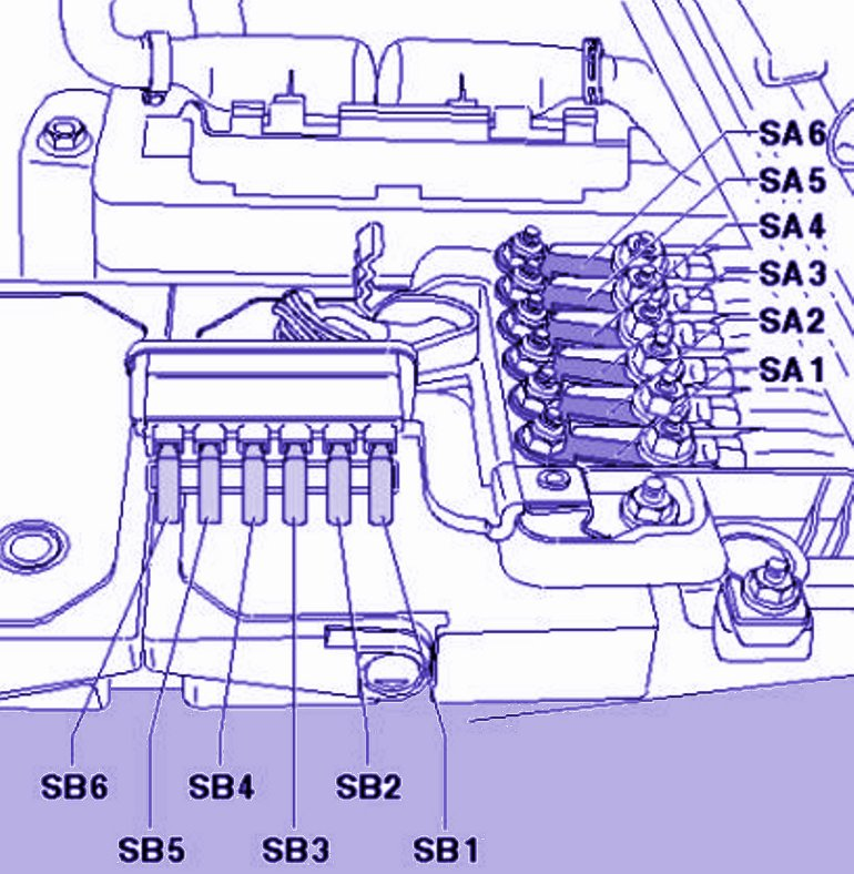 Volkswagen Amarok Fuse Box Diagram And Map In Holder A