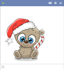 Christmas Teddy Emoji