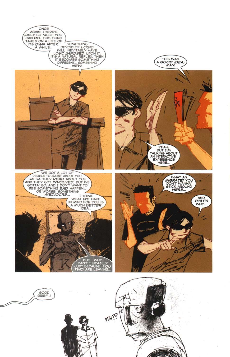 Read online Automatic Kafka comic -  Issue #9 - 17