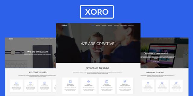 Xoro - Multipurpose HTML5 Template