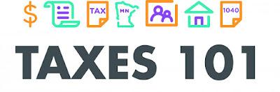 Taxes 101 logo