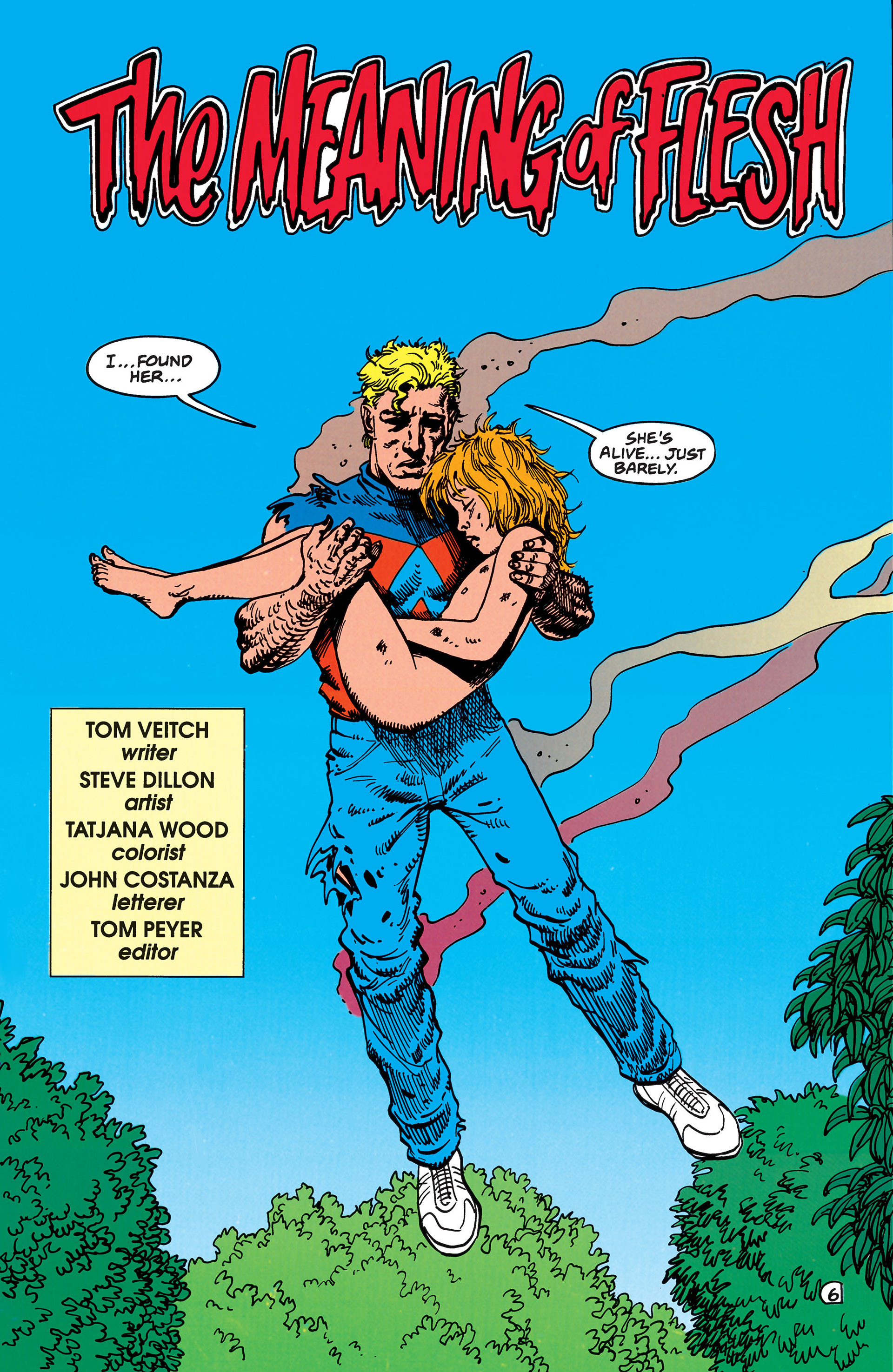 Read online Animal Man (1988) comic -  Issue #48 - 7