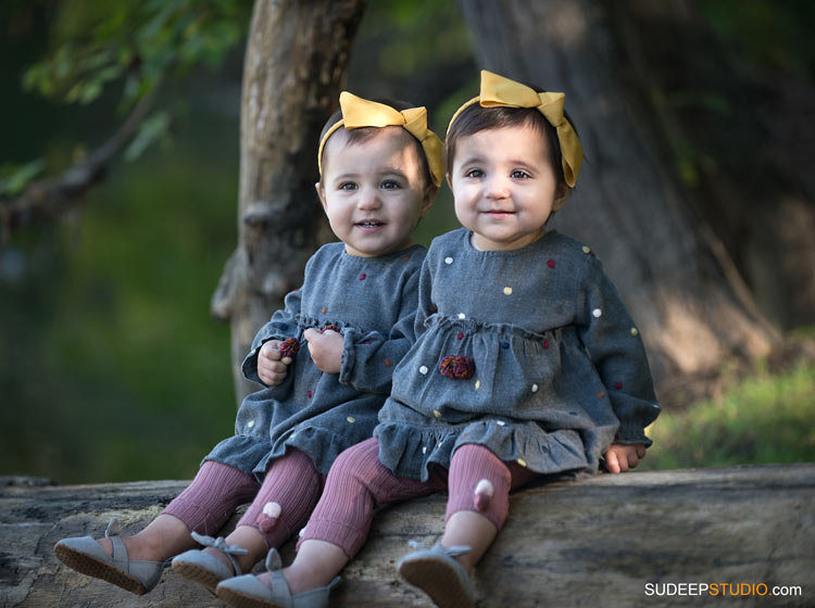 Baby Twins Portrait Photography SudeepStudio.com Ann Arbor Family Portrait Photographer