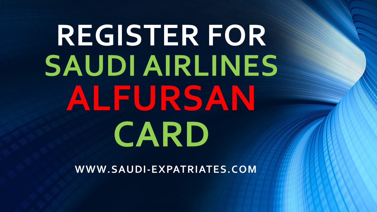 Alfursan Frequent Flyer Card
