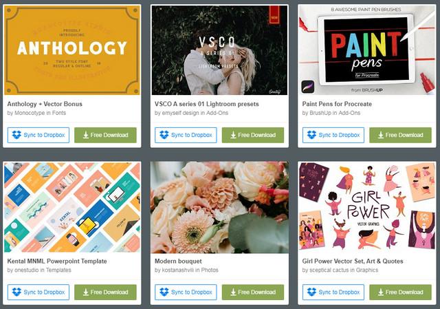 Website Creative Market