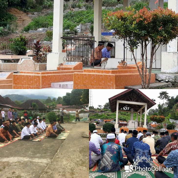 Silaturahmi di Gunung Raya, Zainal-Arsal Juga Ziarahi Makam Depati Parbo