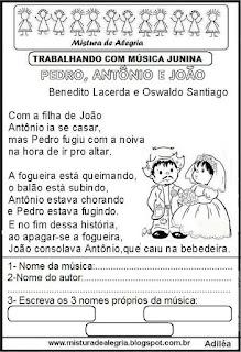 Música Pedro, Antônio e João