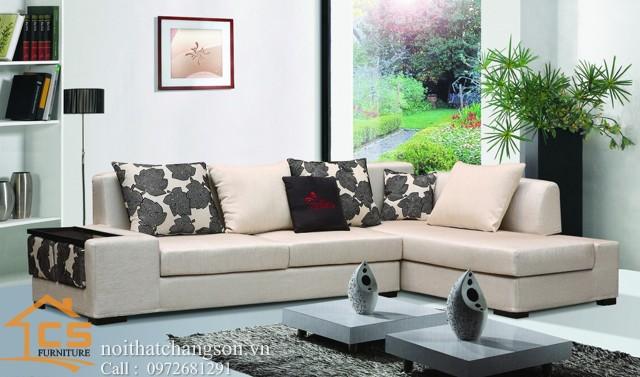 Sofa bền đẹp - giá rẻ sản xuất tại xưởng Nội Thất Chàng Sơn: Sofa đẹp 11