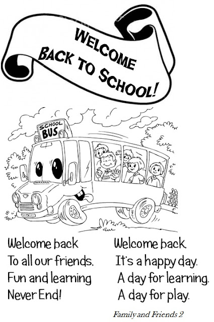 Enjoy Teaching English: BACK TO SCHOOL (poem)
