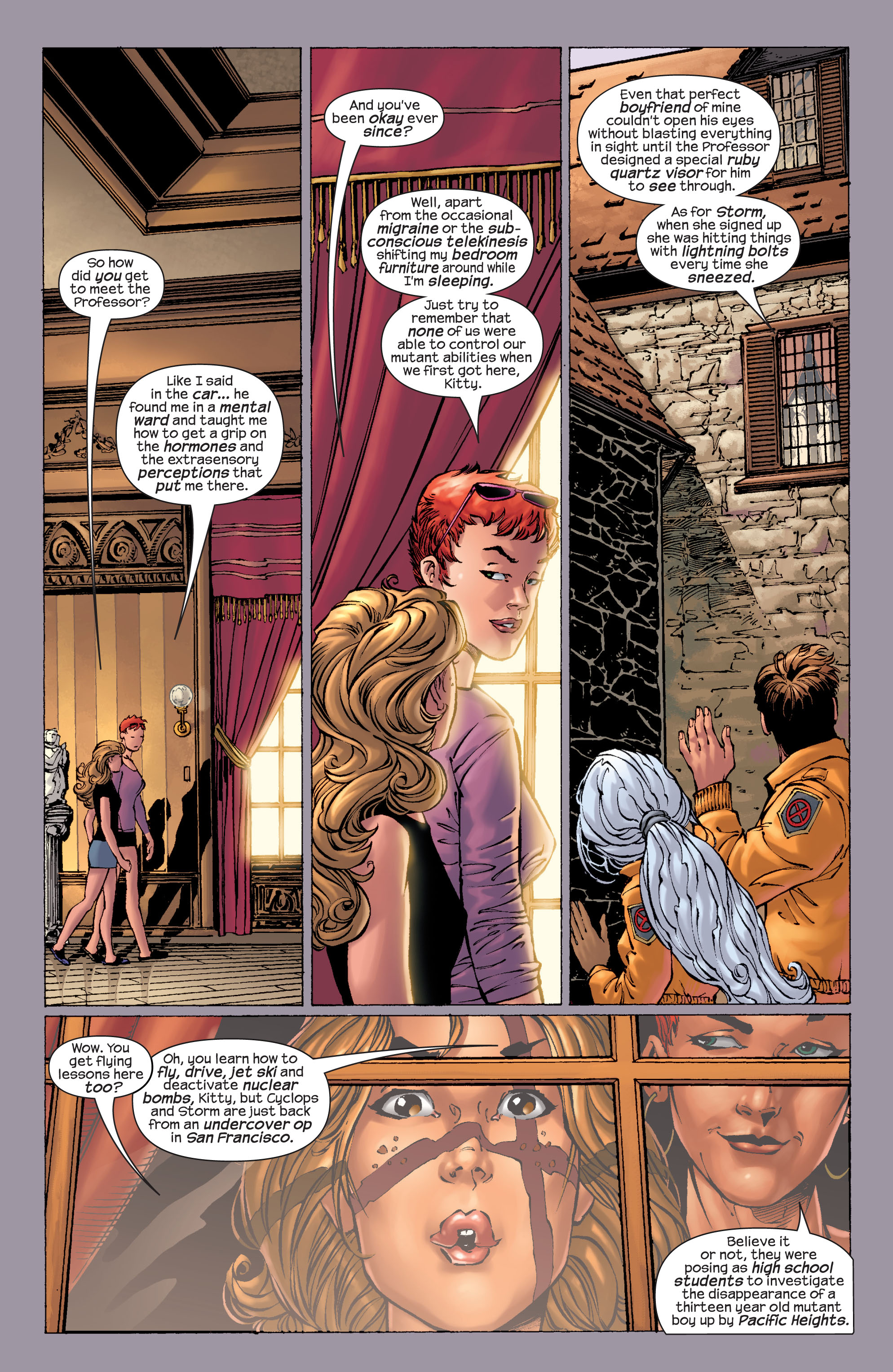 Read online Ultimate X-Men comic -  Issue #21 - 11