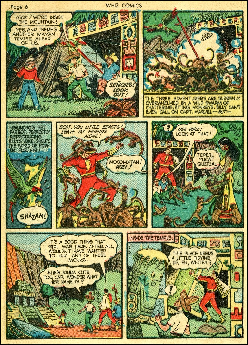 WHIZ Comics issue 22 - Page 8