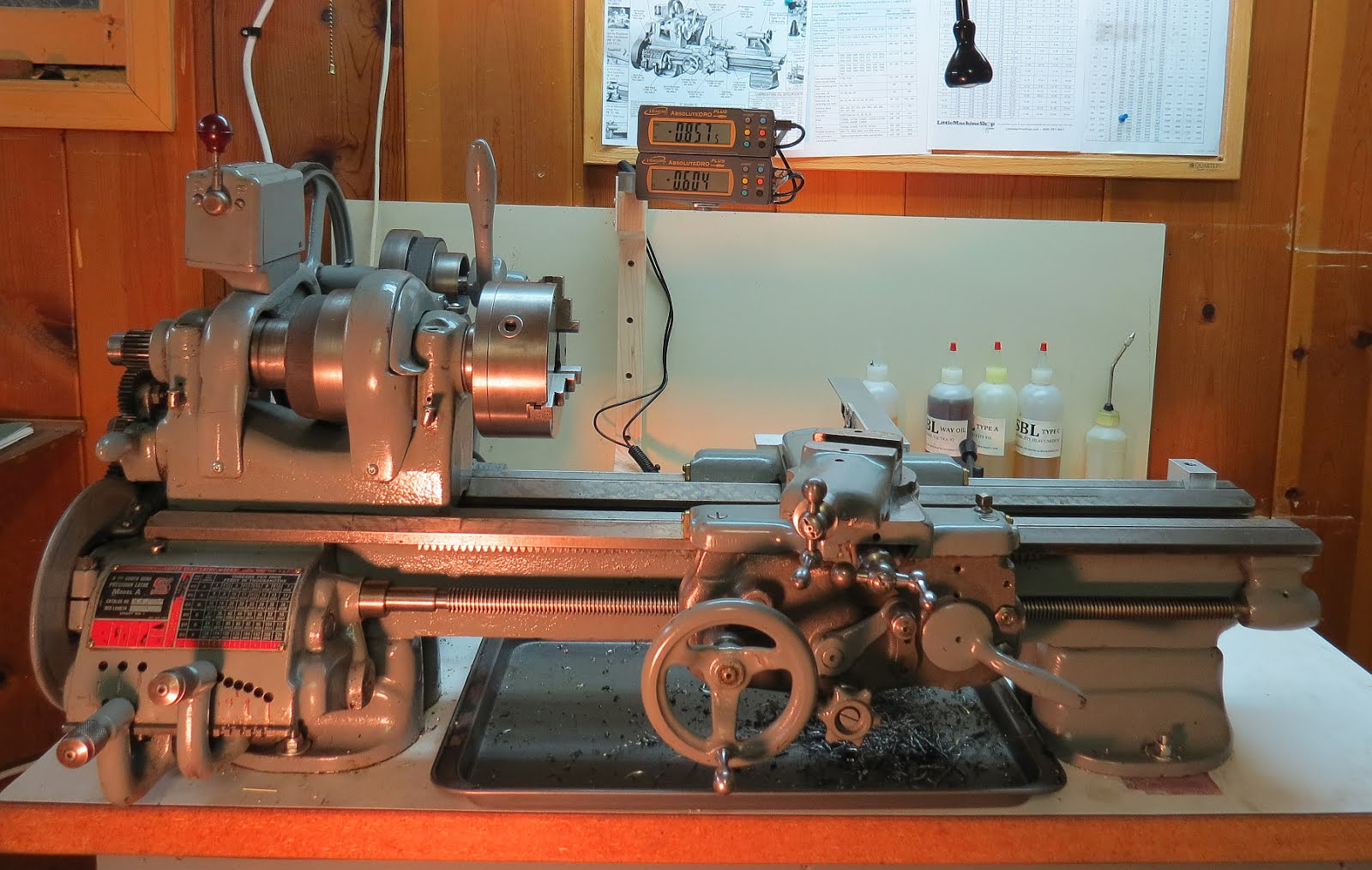 Project notes:: Lathe DRO Installation