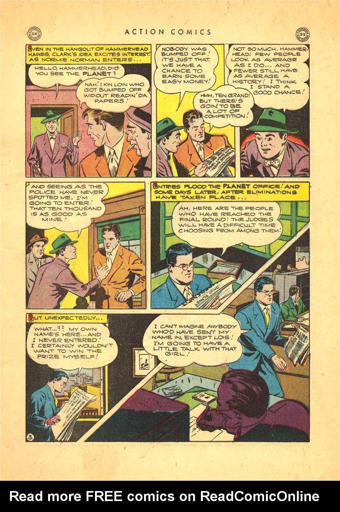 Read online Action Comics (1938) comic -  Issue #92 - 5