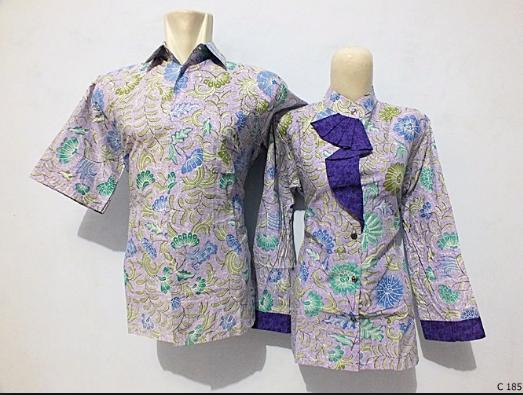 Model Baju Batik Keluarga Untuk Liburan Terbaru