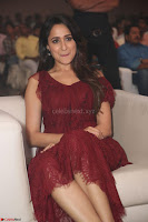 Pragya Jaiswal in Stunnign Deep neck Designer Maroon Dress at Nakshatram music launch ~ CelebesNext Celebrities Galleries 137.JPG