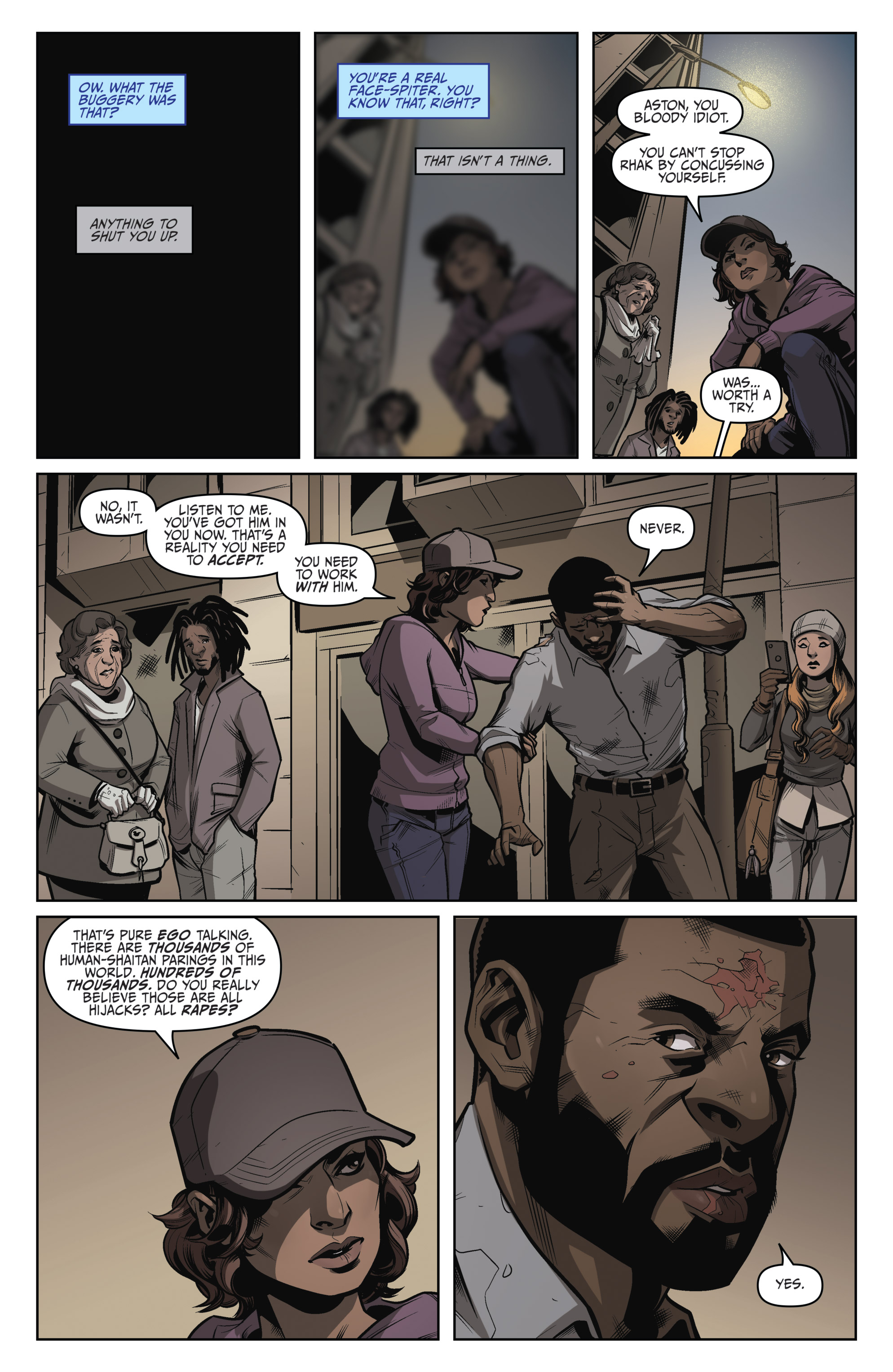 Read online Darkness Visible comic -  Issue #5 - 11