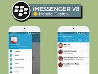 BBM iMessenger v8 Mod Material Design v3.1.0.13 Apk Android