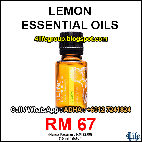 foto 4Life Essential Oils Lemon