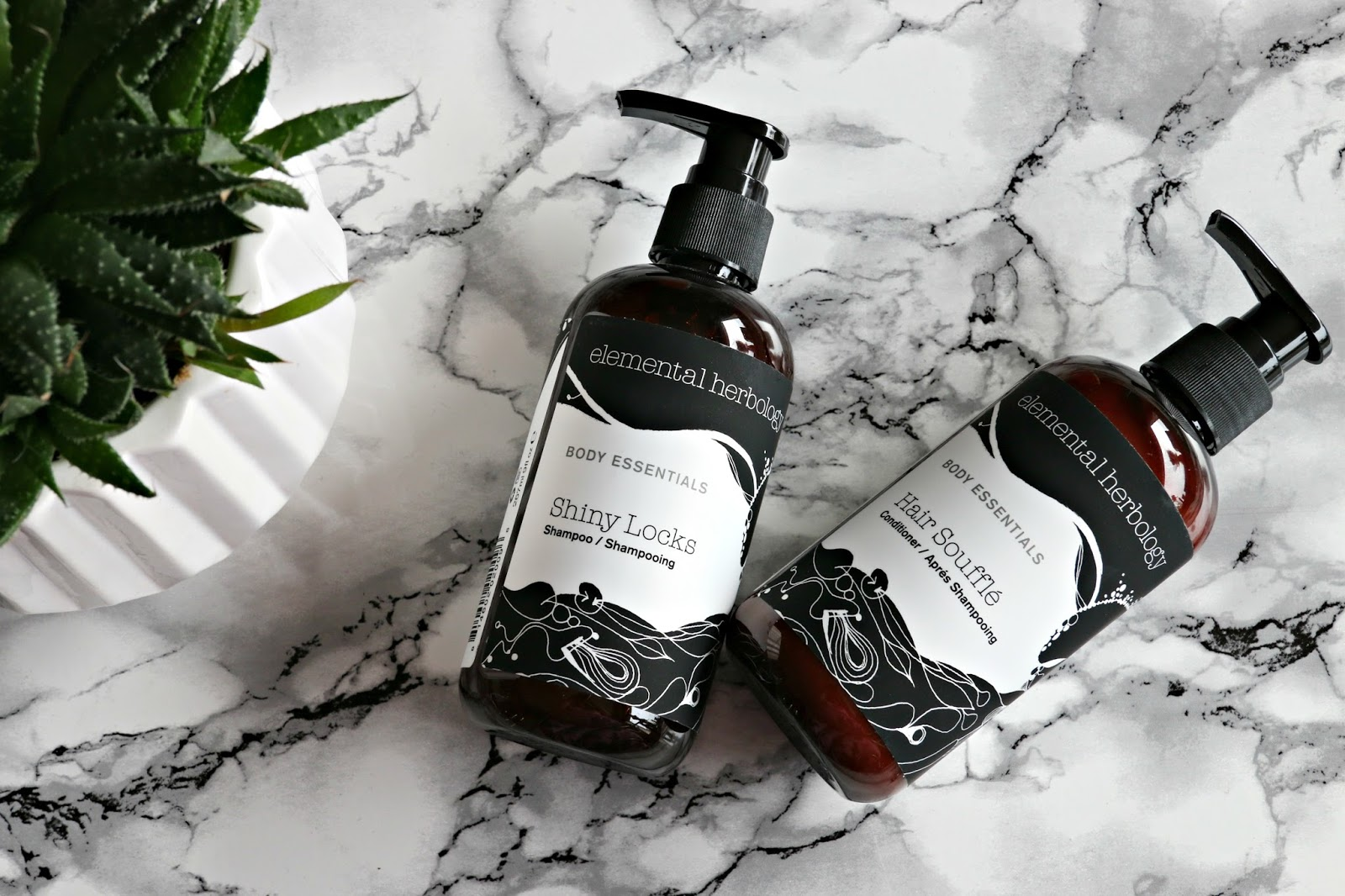 Elemental Herbology Shiny Locks Shampoo & Hair Soufflé Conditioner Review