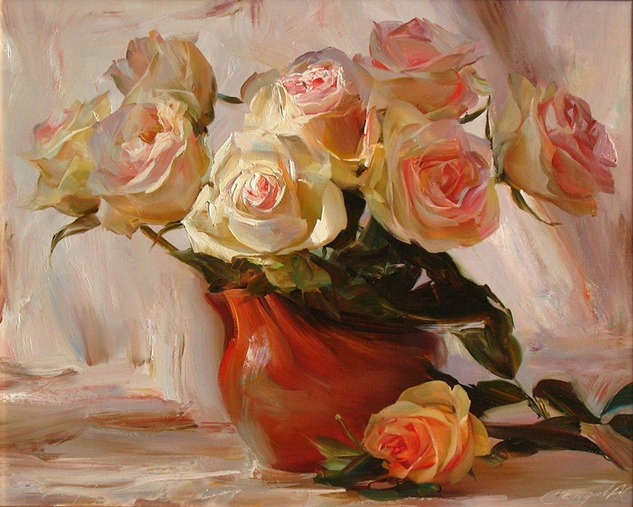 Saidov Aydemir 1979 | Russian Realist painter | Sleeping beauty