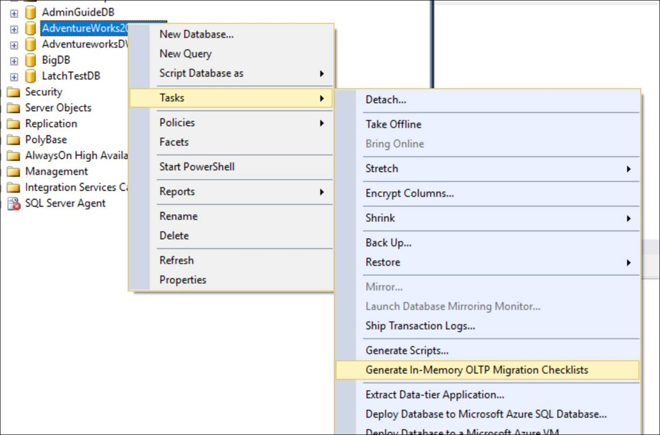 SQL Server Torque: How To Generate In-Memory OLTP Migration Checklist